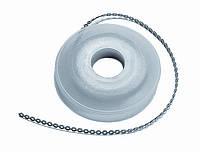 Эластичная цепочка с длинным промежутком серая