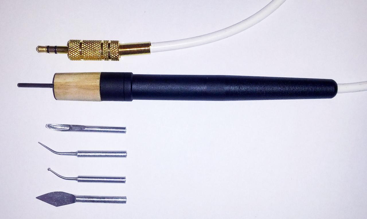 Ручка для электрошпателя Dokatech, нагрематель 2мм. + 4 насадки NaviStom