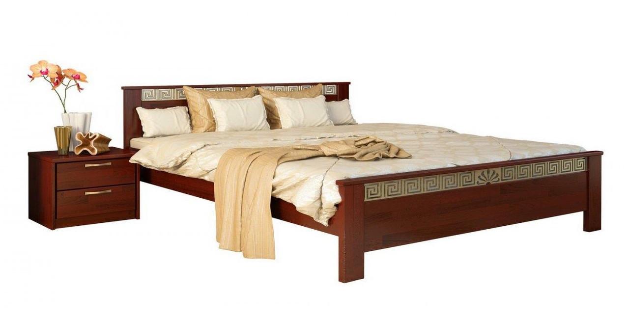 Кровать Афина 160х190 Бук Щит 104 (Эстелла-ТМ)