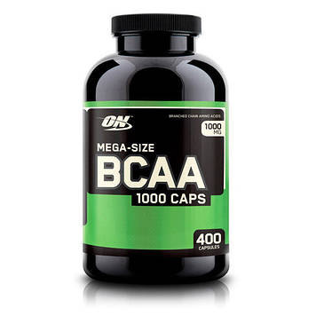 Аминокислота BCAA 1000 (400 caps) Optimum Nutrition