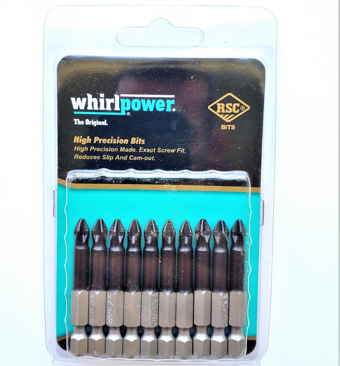 Набір біт Whirlpower (КОБОЛЬТ) PH*2*50 10 шт
