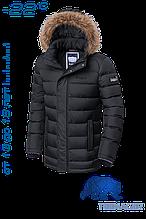 Куртка детская  зимняя на тинсулейте 40 размер Braggart Teenager - 7652D черная