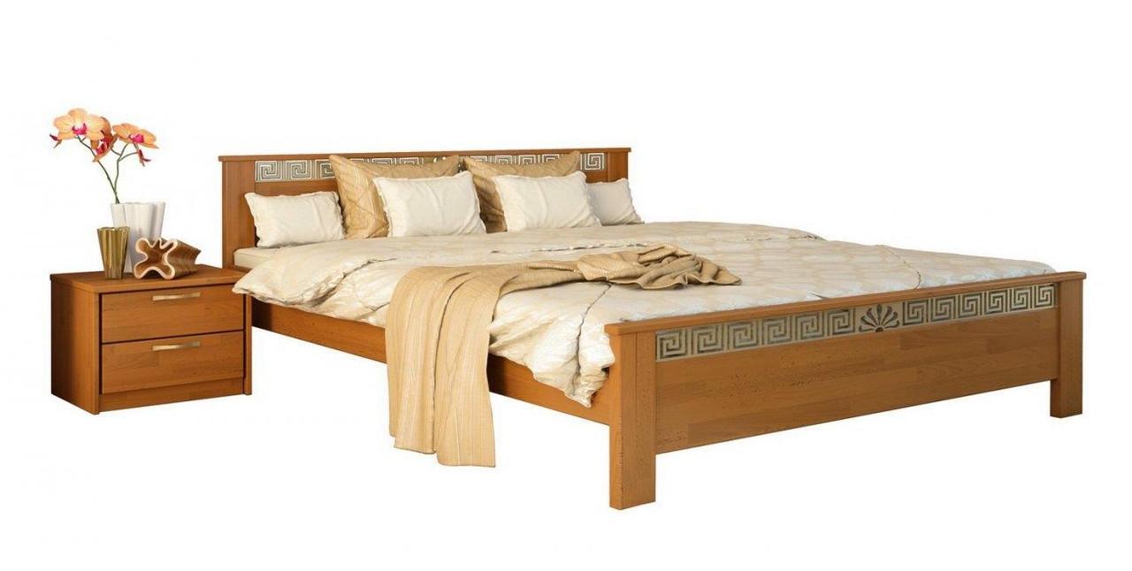Ліжко Афіна 160х190 Бук Щит 105 (Естелла-ТМ)