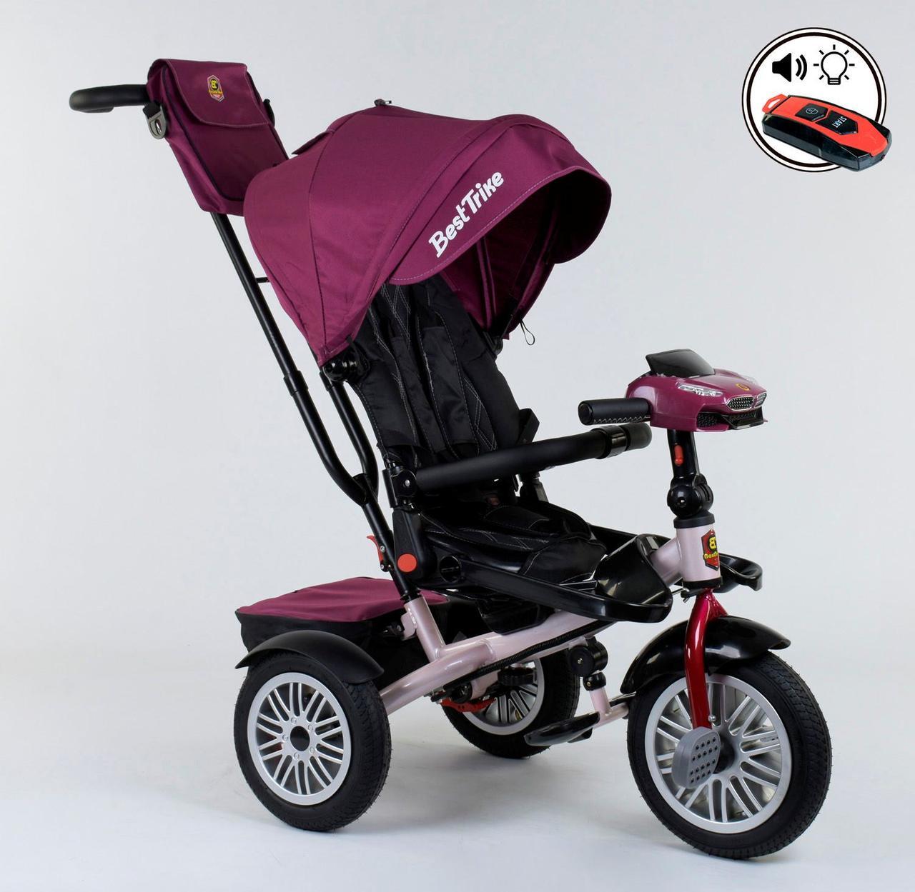 Велосипед 3-х колёсный 9288 В - 6945 Best Trike ПОВОРОТНОЕ СИДЕНЬЕ, СКЛАДНОЙ РУЛЬ, ПУЛЬТ 76979