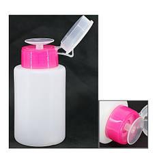 Помпа для жидкости пластиковая с дозатором, 120 мл