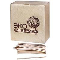 Мешалка ЭКО деревянная шлифованая 140 мм (1000 шт/уп)
