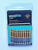 Набір біт Whirlpower (ТИТАН) PH*2*50 10 шт