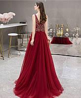 Дуже красива червона жіноча сукня Вечерние красное платье