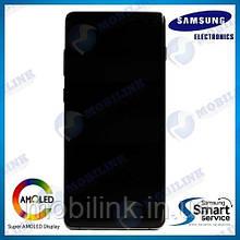 Дисплей на Samsung G975 Galaxy S10+/Plus Белый(White),GH82-18849B, Super AMOLED!
