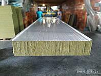 Сендвич панель кровельная базальт 250мм