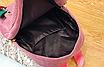 Рюкзак женский вельветовый городской Traveling Розовый, фото 10
