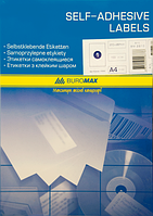 Етикетки самоклеючі Buromax 1 шт (210 х 297 мм) 100 аркушів