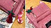 Рюкзак женский вельветовый городской Traveling Розовый, фото 6