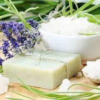 Мыло очищающее для бани с экстрактом березовых шишек