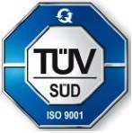 В 2015 году предприятие ООО «Резинопласт» получило сертификат общества (органа) TÜV SÜD Management Service GmbH - ISO 9001:2008