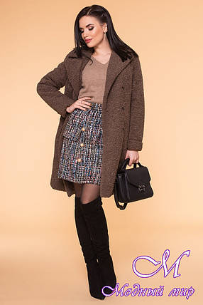 Стильное женское зимнее пальто (р. S, M, L) арт. П-60-11/40837, фото 2