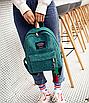 Рюкзак женский вельветовый городской Traveling Зеленый, фото 4