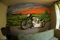 Роспись стен, потолков художниками студии Рыжий кот