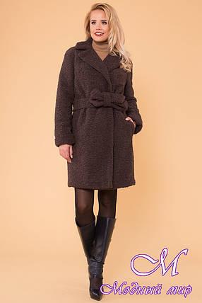 Меховое женское зимнее пальто (р. S, M, L) арт. П-60-11/40971, фото 2