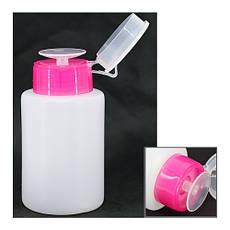 Помпа для жидкости пластиковая с дозатором, 150 мл