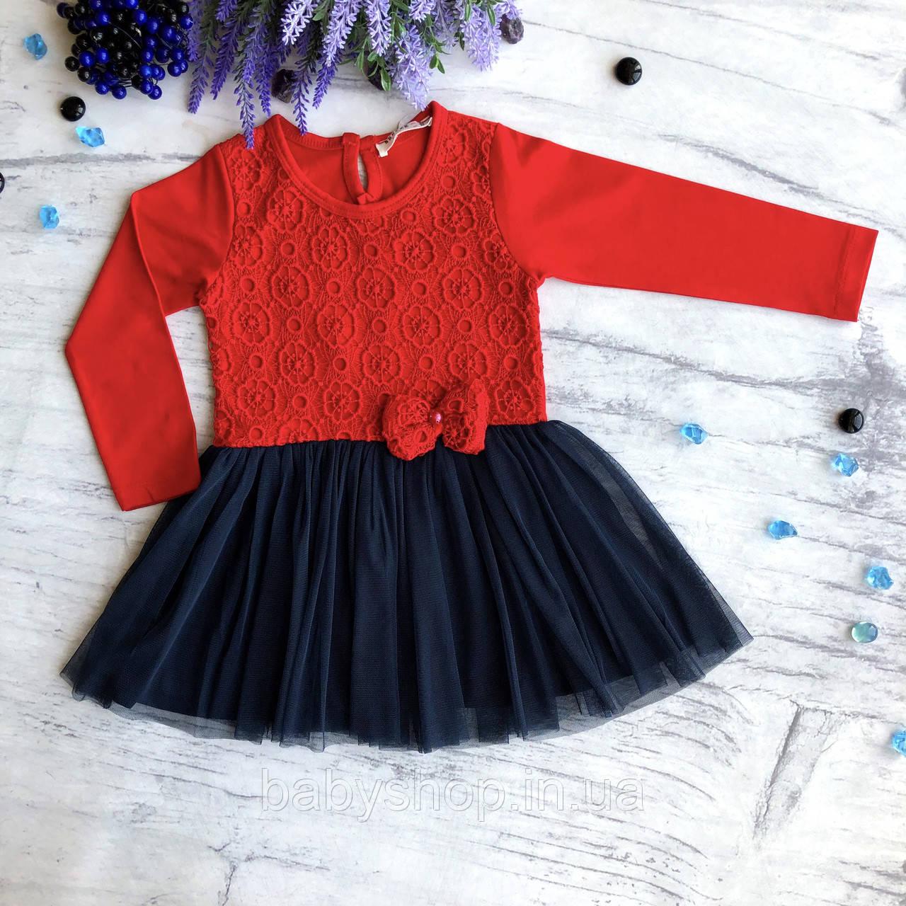 Детское легкое платье Breeze 126. Размер 92 (2года)