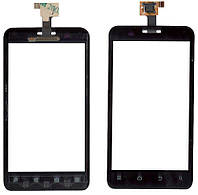 Тачскрин  для смартфона ZTE V889D, V880E Dual черный
