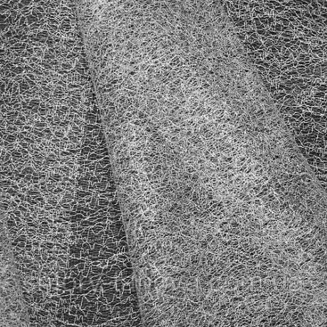 Органза паутинка люрекс серебро