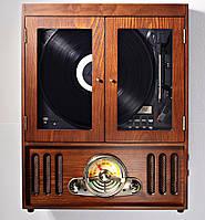 Грамофон музична шафа, фото 1