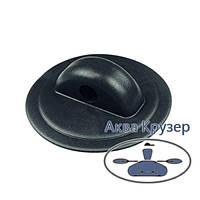 Тримач леєри, основа ø 78 мм, колір чорний, для надувних човнів ПВХ, байдарки