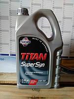 Моторное масло FUCHS TITAN SuperSyn 5W-50 (5л.)/синтетика с повышенными защитными свойствами