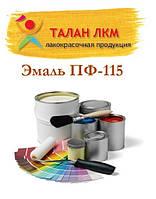 Краска для металлических и деревянных поверхностей. Эмаль ПФ-115 красно-коричневая, черная