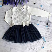 Детское легкое платье Breeze 127. Размер 98 см (3 года), 104 см (4 года), 110 см (5 лет), 116 см (6 лет)