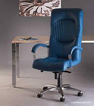 Кресло для руководителей GERMES steel MPD AL68 с механизмом «Мультиблок», фото 3