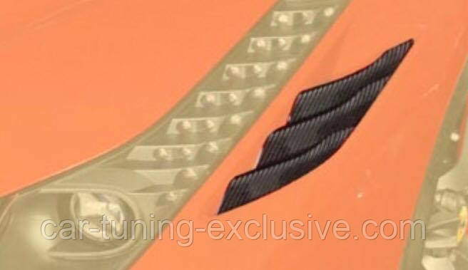 MANSORY front fender air vents top for Ferrari 458