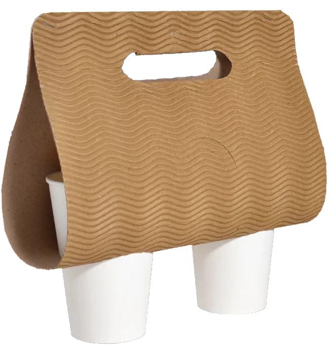 Держатель холдер-сумка для стаканов (2 секции)