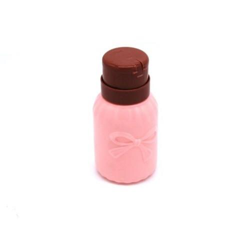 Помпа для жидкости пластиковая с дозатором, 200 мл