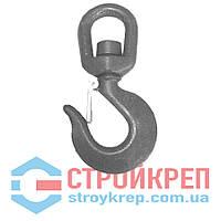 Крюк крановый вращающийся, углеродистая сталь, 0,75 т