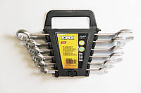 Набор рожково-накидных ключей TOPEX 6 шт, 8-17 мм,  Cr-V сталь