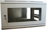 Шкаф коммутационный настенный, трехсекционный 6U 600x540 ш(61)*г(56)*в(37)