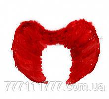 Крылья Ангела Большие 41х59см (красные) к127
