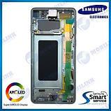 Дисплей на Samsung G973 Galaxy S10 Зелёный(Green),GH82-18850E, Super AMOLED!, фото 2