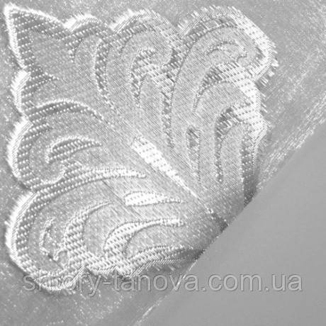 Органза жуан серебро v-1