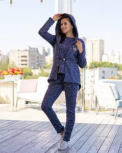 Женский спортивный костюм-тройка на флисе размеры SМL