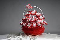 Букет из конфет на день Рождение ручной работы Восхищение