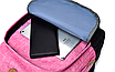 Рюкзак городской мужской женский Jim Bang Серый, фото 5