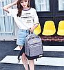 Рюкзак городской мужской женский Jim Bang Серый, фото 3