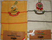Набор махровых полотенец, Редис и Кукуруза