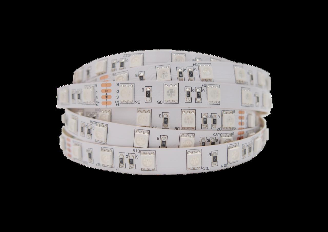 """Светодиодная LED лента гибкая 12V PROLUM™ IP20 5050\60 Series """"PRO"""", Белый (5500-6000К)"""
