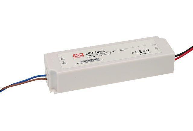 Блок питания импульсный Mean Well 100W 24V (IP67, 4,2A) PRO