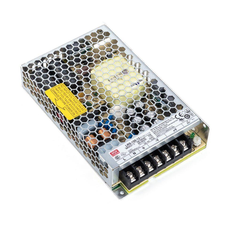 Блок питания импульсный Mean Well 150W 12V (IP20, 12,5A) PRO